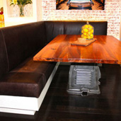 Custom Kitchen Banquette Services Dreams Upholstery